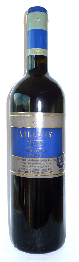 villanyi cabernet franc selection 07
